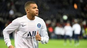Vers un forfait de Mbappé contre Lille. AFP