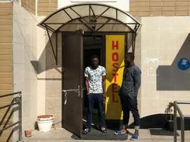 Des Nigérians étaient bloqués en Russie. AFP