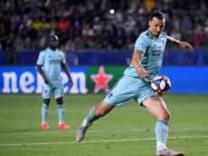 Fin de série pour Ibrahimovic en MLS. AFP