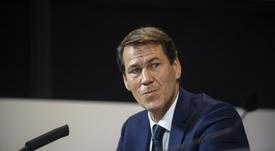 Rudi García respondió a la llamada de Juninho. AFP