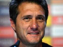 Il quitte son poste de coach. AFP