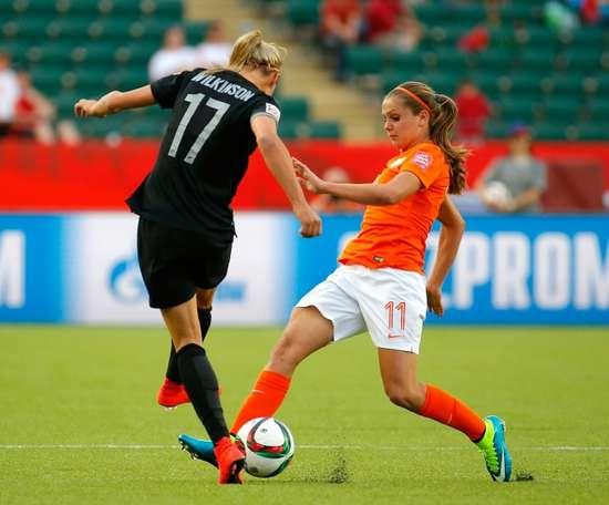 L'attaquante néerlandaise Lieke Martens. AFP