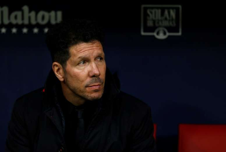 Simeone analizó la victoria ante el Eibar por 0-1. AFP