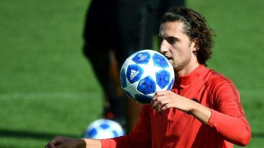 Le milieu du PSG,Adrien Rabiot. AFP