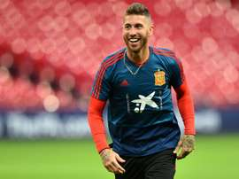 Sergio Ramos ya superó a Hierro. AFP
