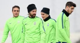 Morata est destiné à aller sur le banc à la Juve. AFP