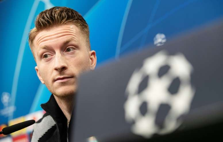 Marco Reus hopes Messu can play on Tuesday. AFP