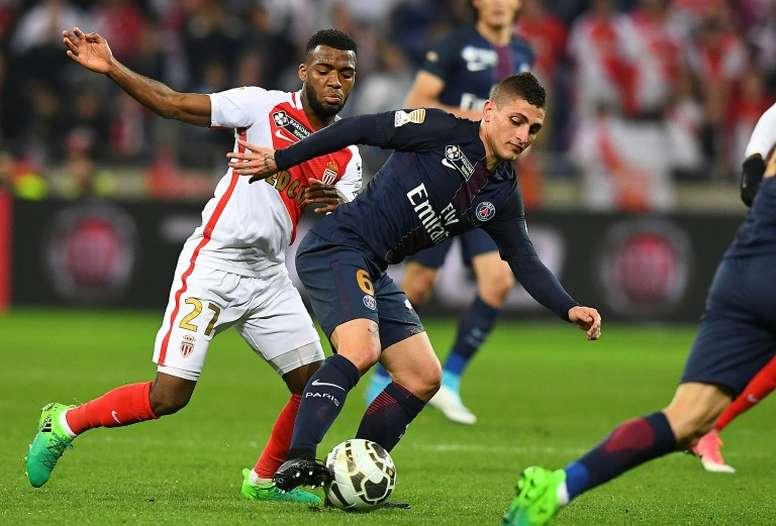 Verratti veut quitter Paris. AFP