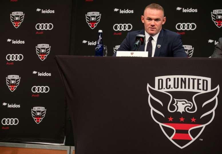 Rooney is in America. AFP