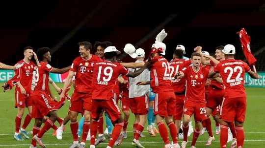 Le Bayern se balade en finale de Coupe et rêve désormais de triplé. afp