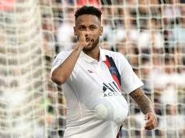 Neymar a retrouvé le PSG. AFP