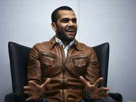 Dani Alves could be leaving PSG this summer. AFP