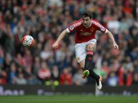 Matteo Darmian could be on the move from Old Trafford. AFP