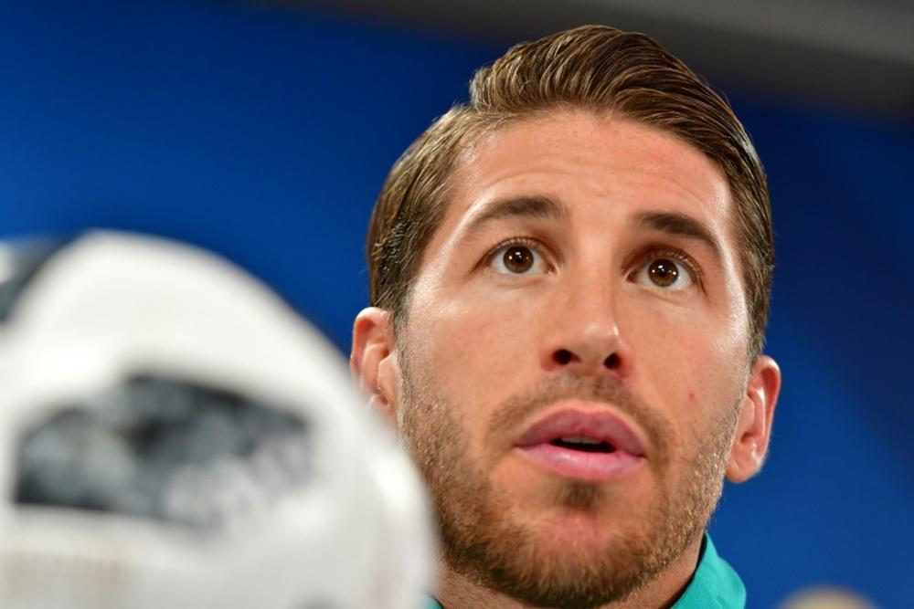 Ramos probably won't play against Sevilla. EFE