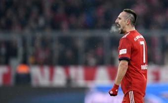 Franck Ribery will not return to Bayern Munich. AFP
