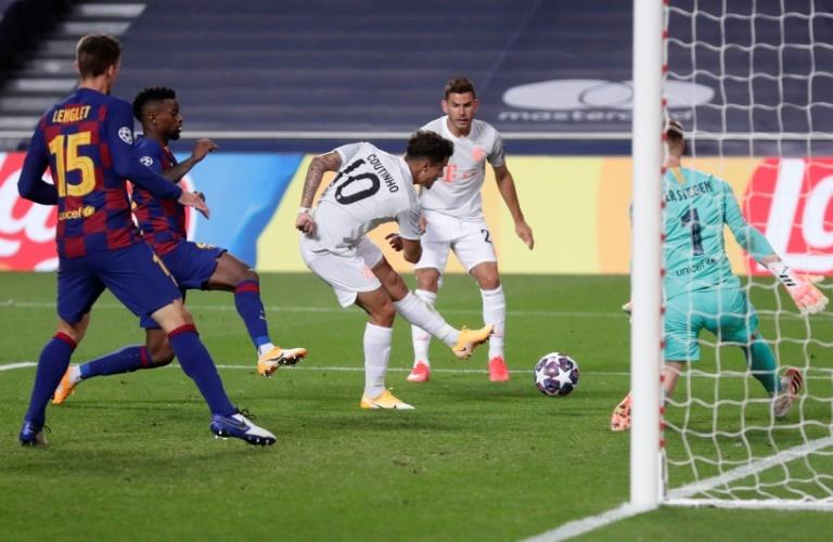 Venganza de Philippe Coutinho