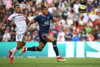 Mbappé suena con más fuerza para jugar en el Madrid. AFP