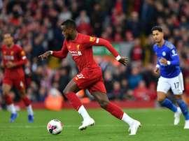 Origi could leave Liverpool. AFP