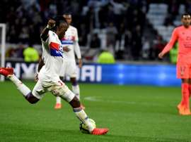 Traoré tem feito uma boa época no Lyon. AFP