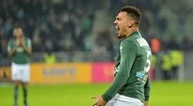 Kolodziejczak recordó su paso por el Sevilla. AFP