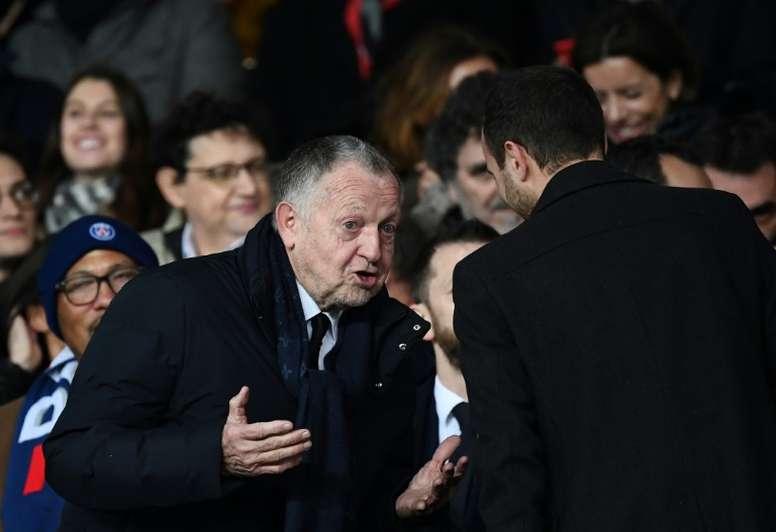 L'incertitude gagne le football français. AFP