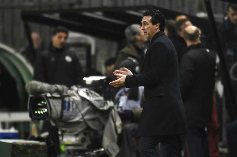 Emery n'en veut pas à Thiago Silva. AFP