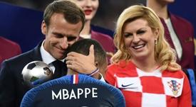 Mbappé dal cuore d'oro. AFP