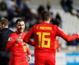 Gli Hazard, la famiglia più 'calcistica' del mondo. AFP