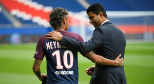 Neymar will leave, but we do not know how much for. AFP