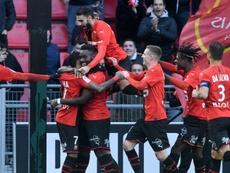 Rennes sait rebondir. AFP