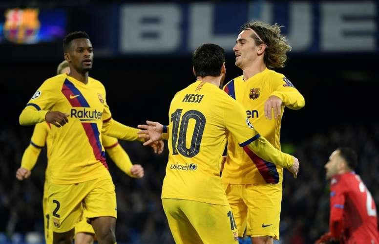 Messi y Griezmann son intransferibles. AFP