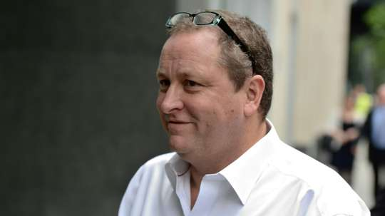 Newcastle owner Mike Ashley is yet to receive an 'acceptable' offer. AFP