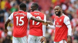 Le bel été d'Arsenal. AFP