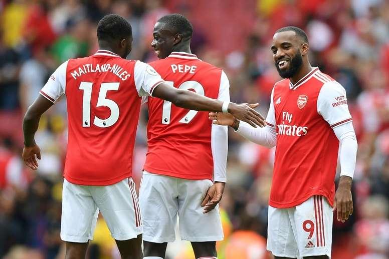Arsenal se renseigne sur le prometteur Logan Pye. AFP