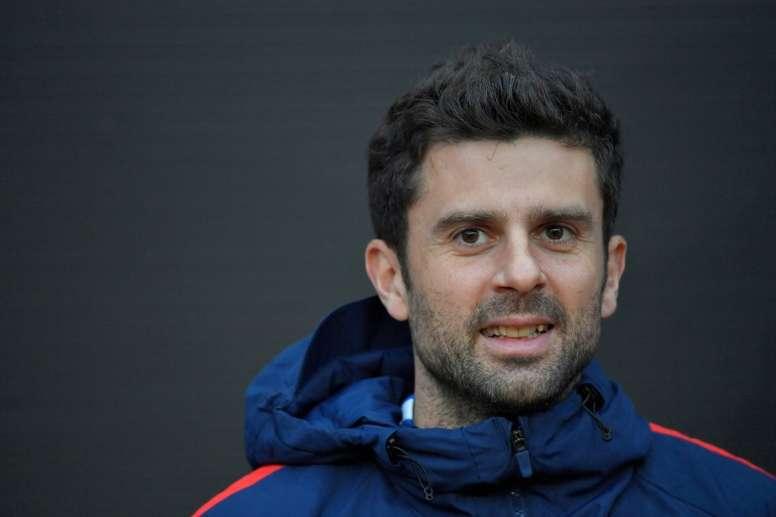 Thiago Motta entrenará al Genoa. AFP