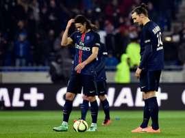Ibrahimovic aurait detesté un joueur du PSG. AFP