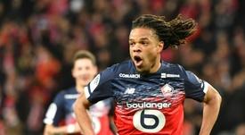 El Lille jugará con toda seguridad la Europa League. AFP