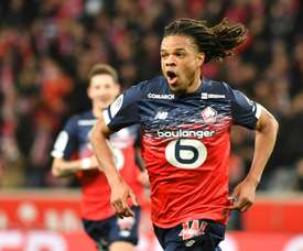 Lille will play in the Europa League next season. AFP