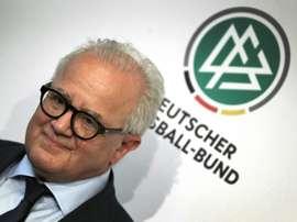 Pour l'Euro 2020, le président de la Fédération allemande vise au moins le dernier carré. AFP