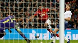 Rashford ensured the win for Solskjaer and United. AFP