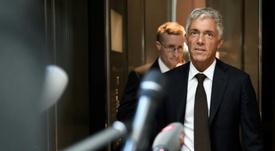 Le procureur général suisse visé par une procédure de révocation. AFP