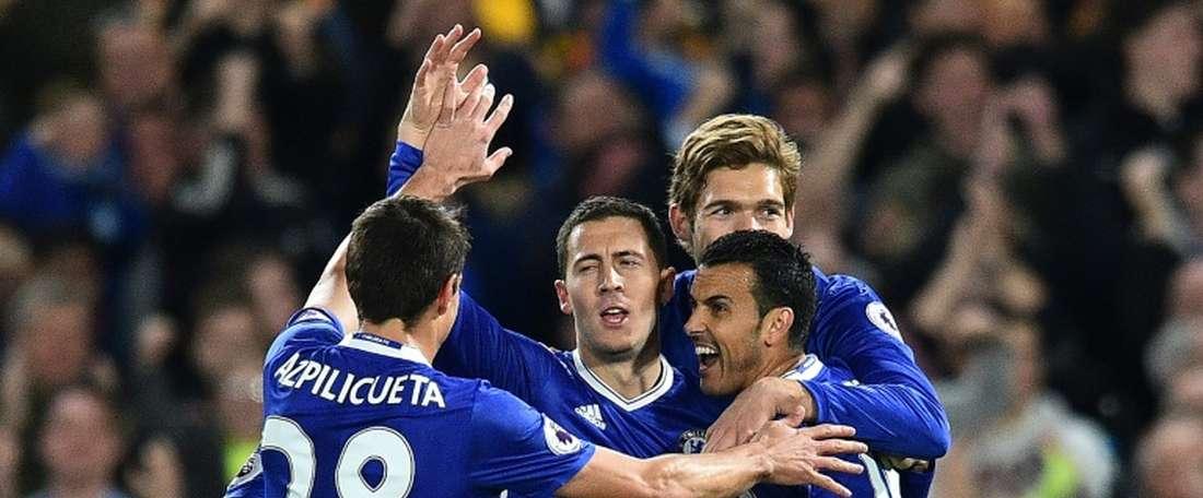 Nova vitória para os 'blues' na liga inglesa. AFP