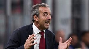 Marco Giampaolo entraîneur du Torino. AFP