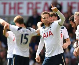 Tottenham vence Bournemouth por 4-0 na rodada 33 da liga inglesa. AFP