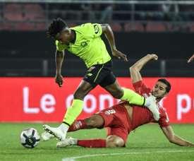 Le défenseur brésilien du LOSC, Thiago Mendes. AFP