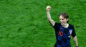 Modric est en lice pour remporter quatre prix individuels. AFP