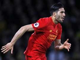 Can vai abandonar o Liverpool. AFP