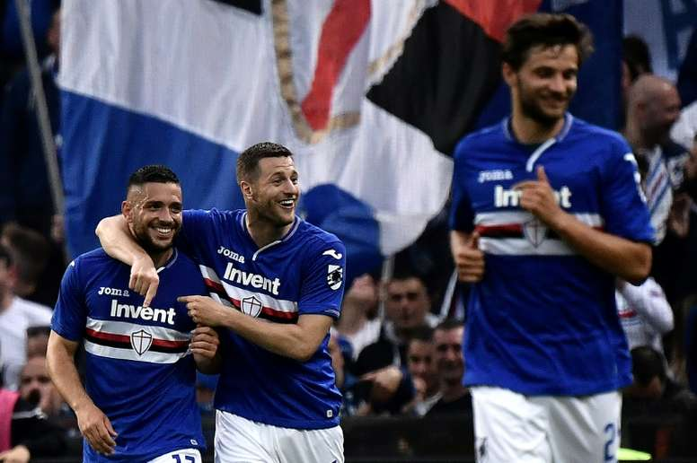 La Lazio cayó en su visita al Luigi Ferraris. AFP/Archivo