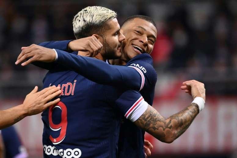 VIDÉO : la victoire 2-0 du Paris Saint-Germain à Reims. AFP