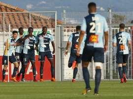 Le Havre bat Metz. AFP
